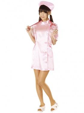 光沢感あるピンクってかわいい!! めちゃめちゃ可愛いアキバ系の激安コスプレシリーズ。